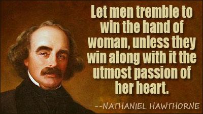Nathaniel Hawthorne's quote