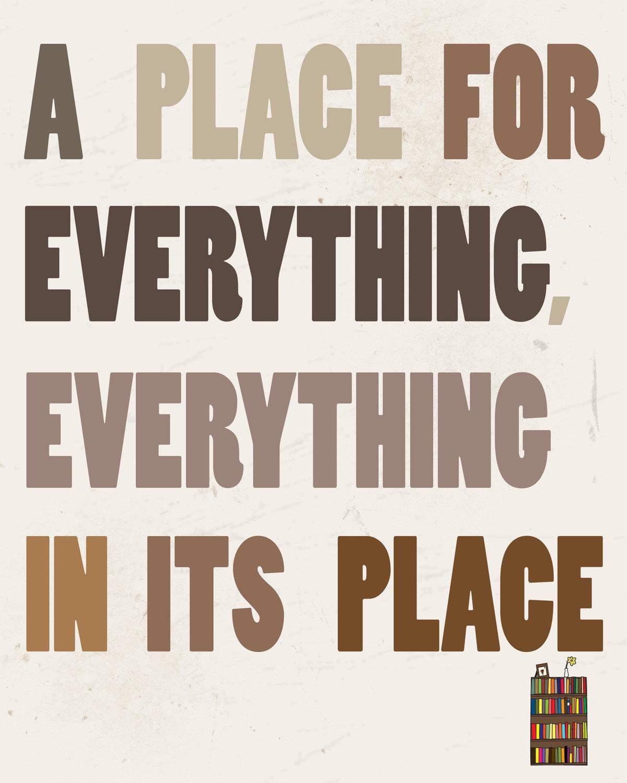 Neatness quote #2