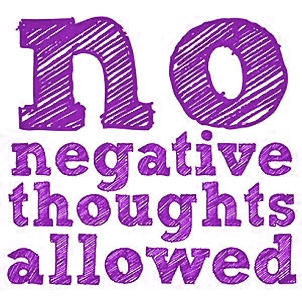 Negative Thoughts quote #2