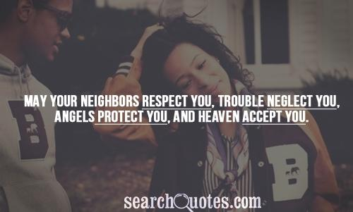 Neighbors quote #2