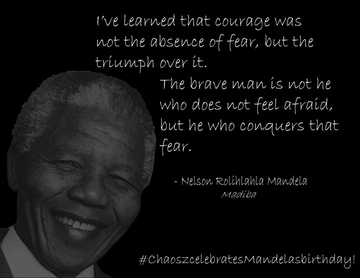 Nelson Mandela quote #1