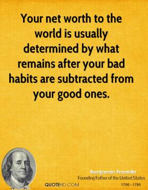 Net Worth quote #2