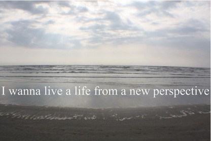 New Perspective quote