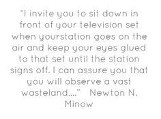 Newton N. Minow's quote #1