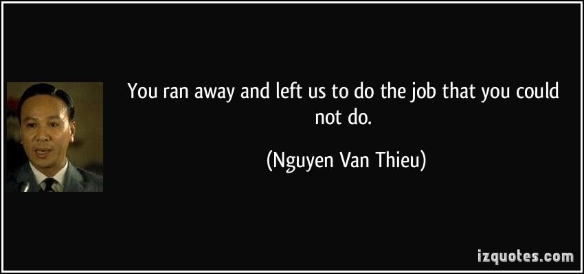 Nguyen Van Thieu's quote #2