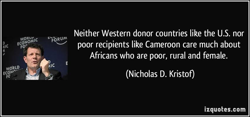 Nicholas D. Kristof's quote #3