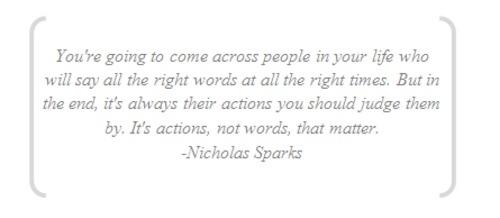 Nicholas Sparks's quote #5