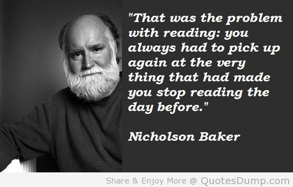 Nicholson Baker's quote #3