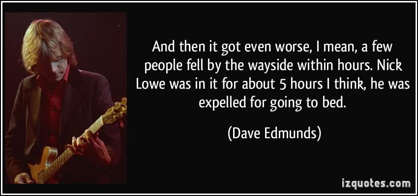 Nick Lowe's quote #7