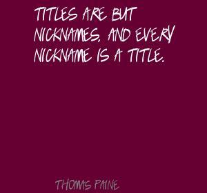 Nicknames quote #2