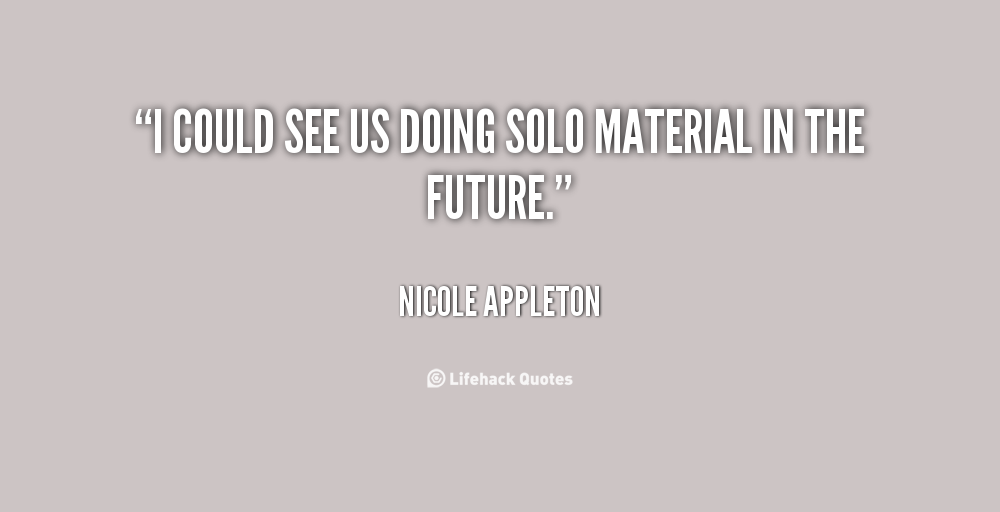 Nicole Appleton's quote #3