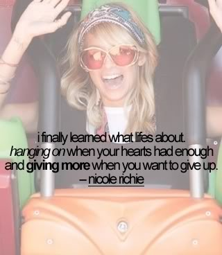 Nicole Richie's quote