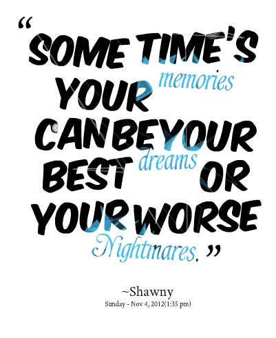 Nightmares quote #6