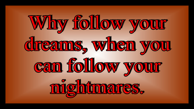Nightmares quote #5