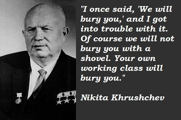 Nikita Khrushchev's quote #2