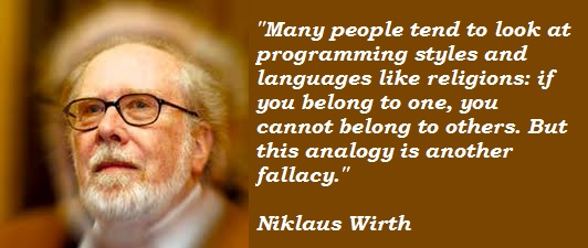 Niklaus Wirth's quote #2