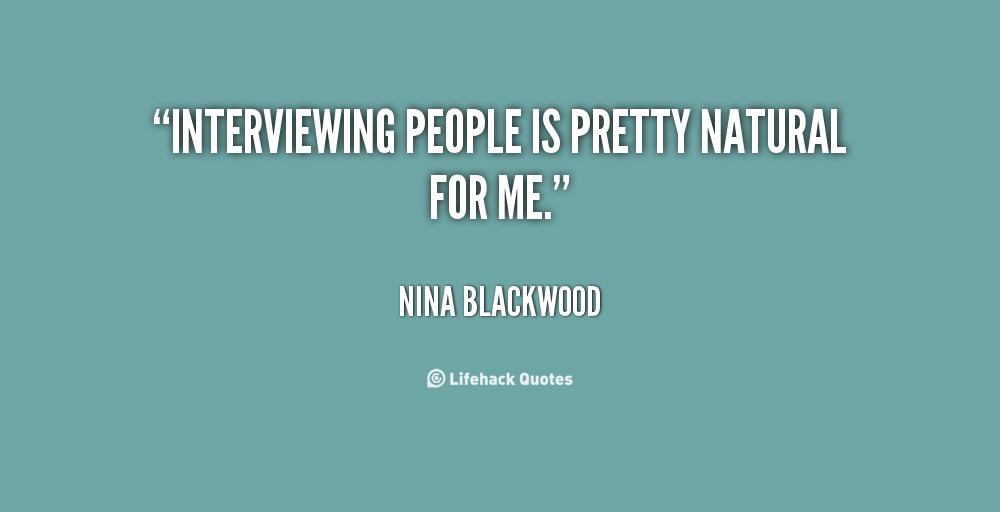 Nina Blackwood's quote #5