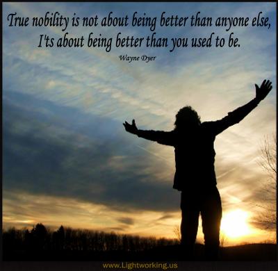 Nobility quote