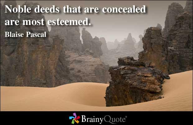 Noble Deeds quote #1