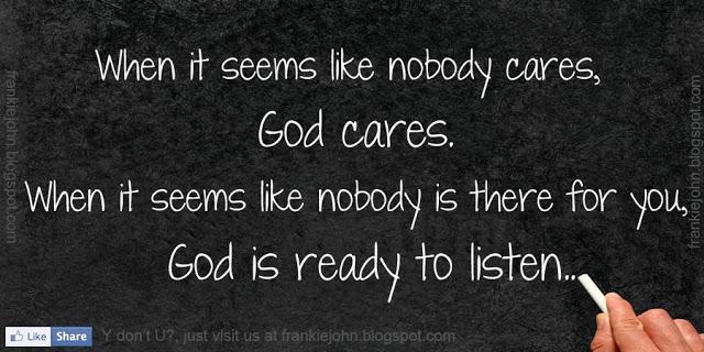 Nobody Cares quote #2