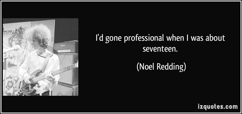 Noel Redding's quote