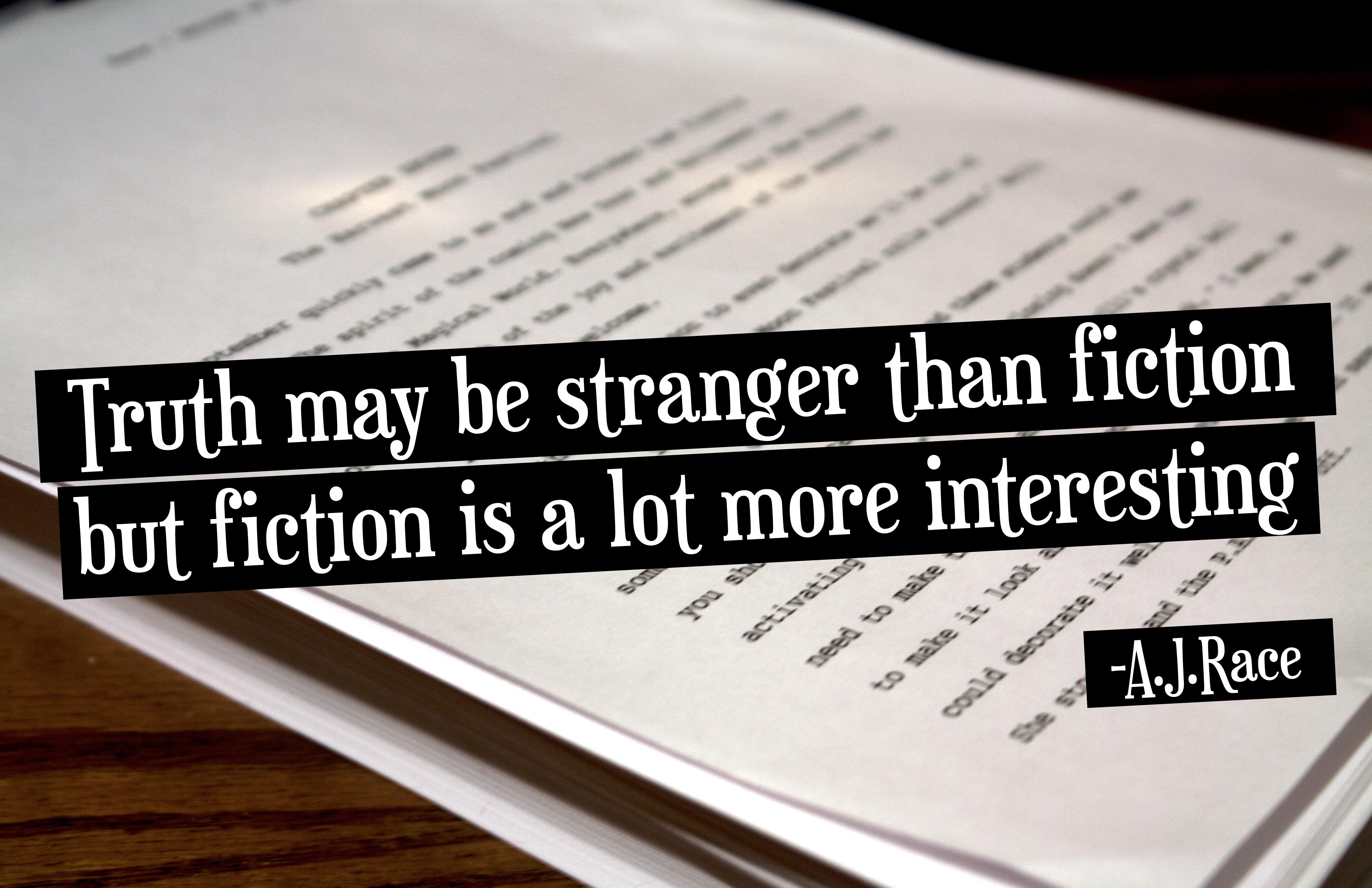 Famous Quotes About 'Non-Fiction'