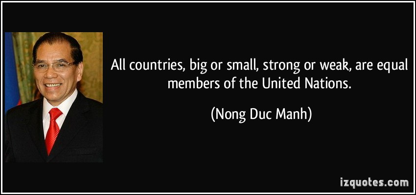 Nong Duc Manh's quote