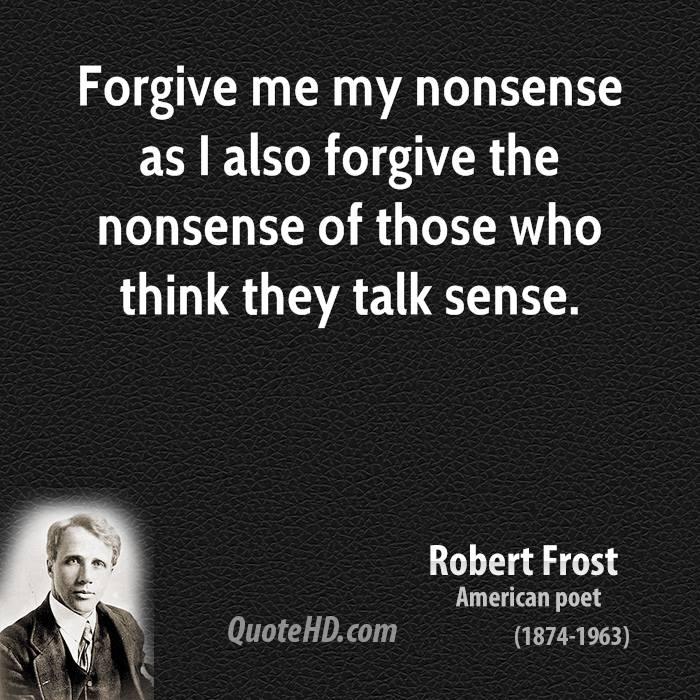 Nonsense quote #1