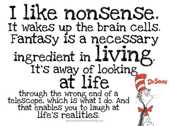 Nonsense quote #7