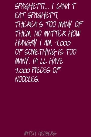 Noodles quote #1