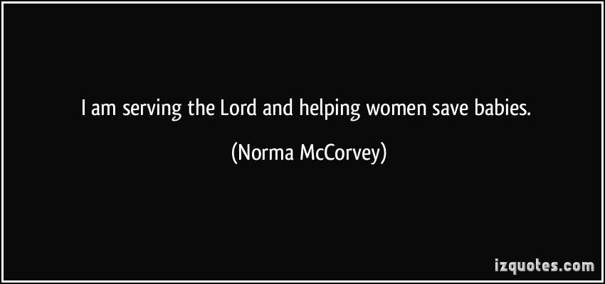 Norma McCorvey's quote #4