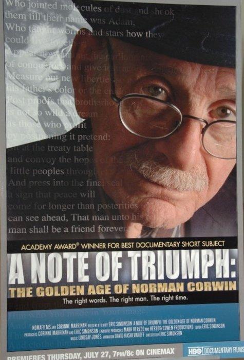 Norman Corwin's quote #2