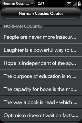 Norman Cousins's quote