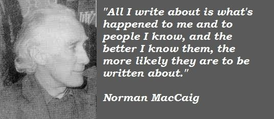 Norman MacCaig's quote #2
