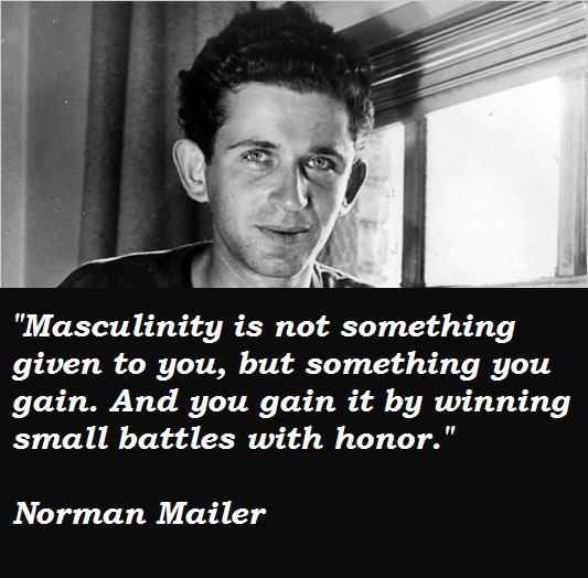 Norman Mailer quote #1