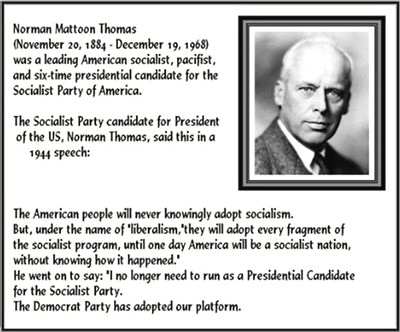 Norman Thomas Image Quotation #5   Sualci Quotes