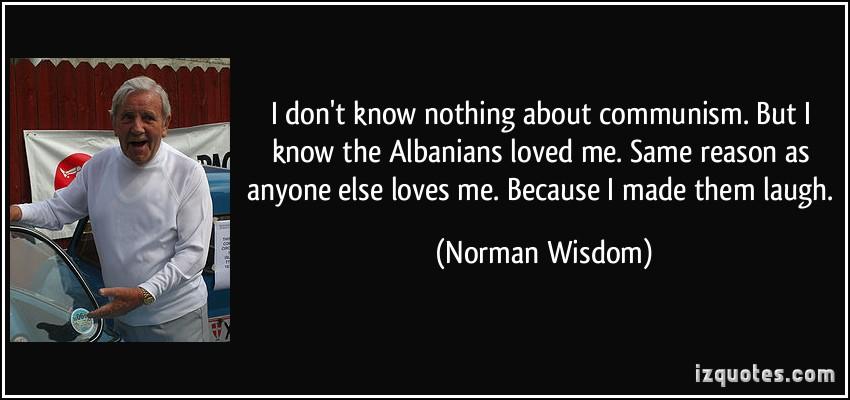 Norman Wisdom's quote #4