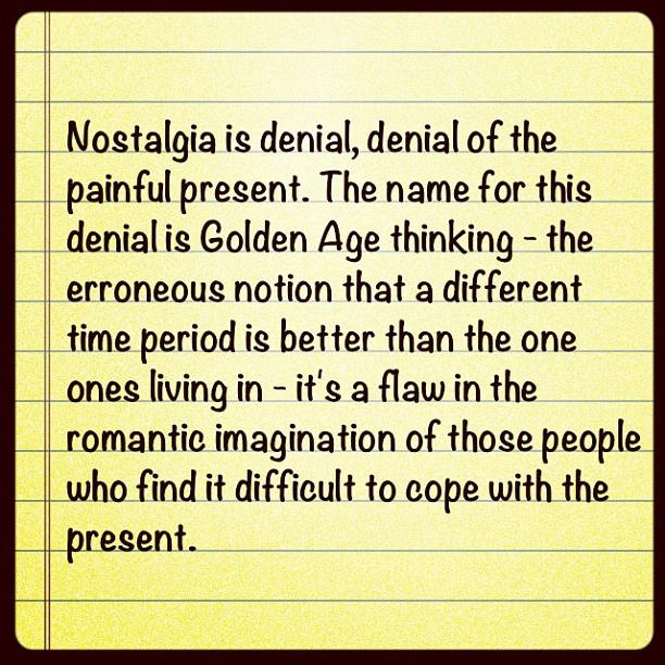 Nostalgia quote #4