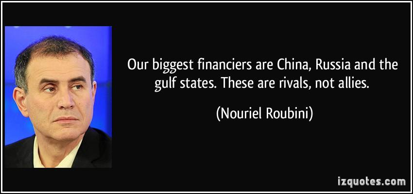 Nouriel Roubini's quote