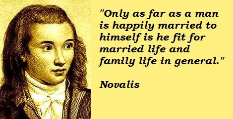 Novalis's quote