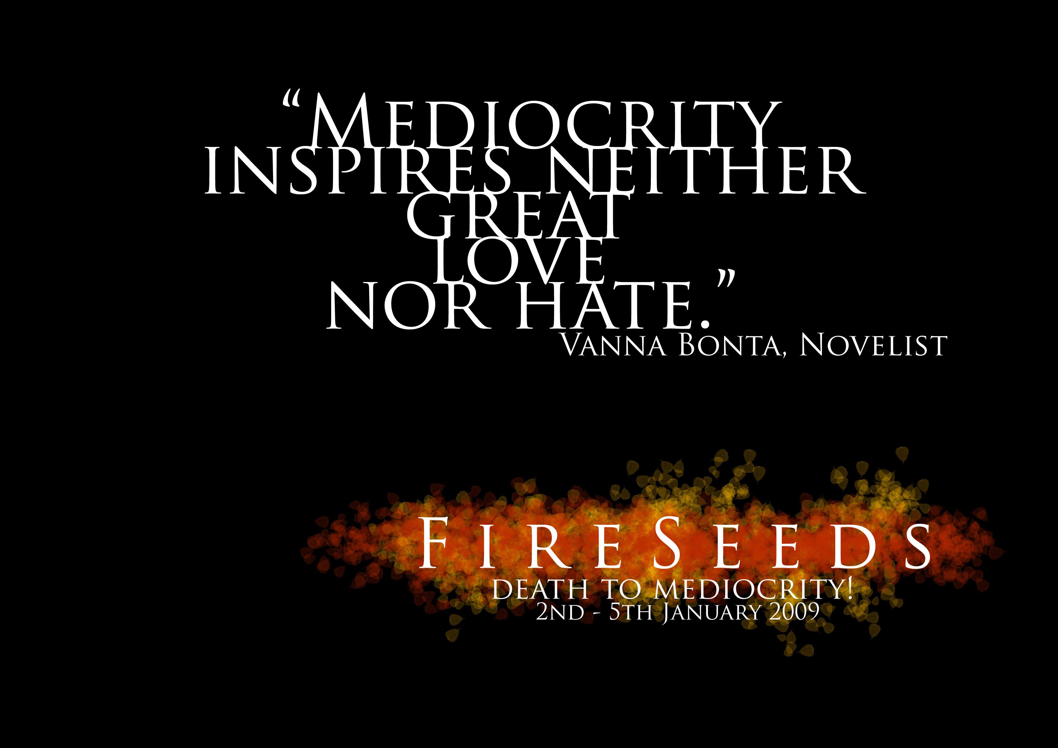 Novelist quote #1