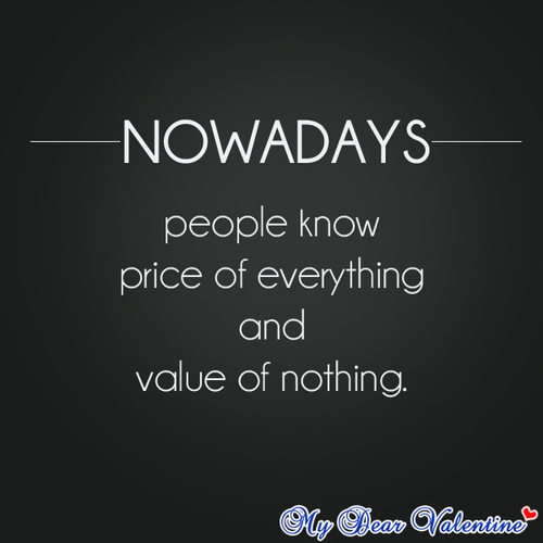Nowadays quote #2