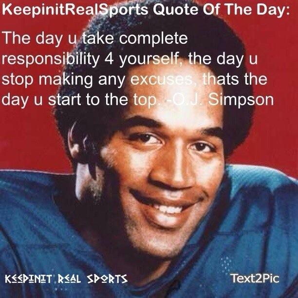 O. J. Simpson's quote #4
