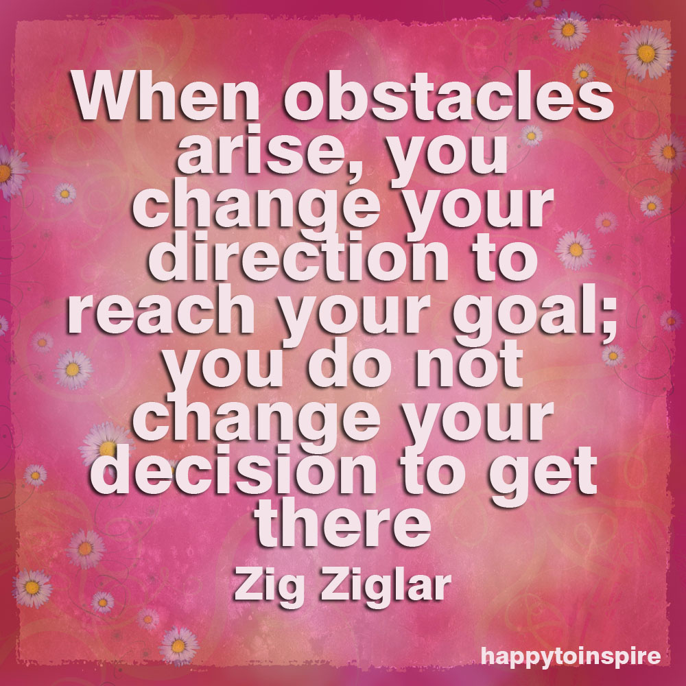 Obstacles quote #6