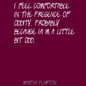 Oddity quote #1