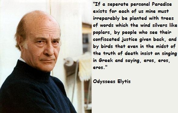 Odysseas Elytis's quote #6