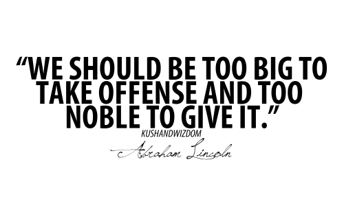 Offense quote #3
