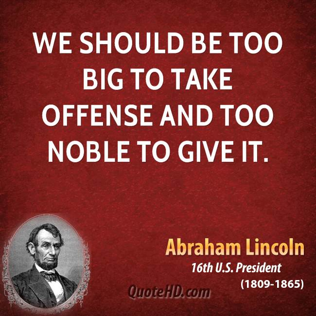 Offense quote #5