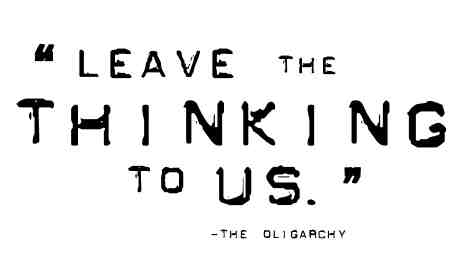Oligarchy quote #1