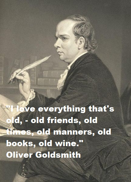 Oliver Goldsmith's quote #6